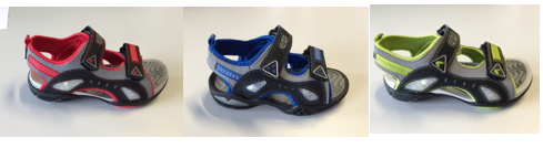 Clarks Solar Force Solar Flash children's sandals