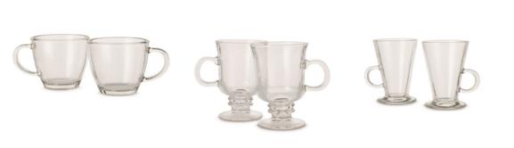 Aldi glass mugs