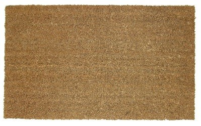 Diall large PVC backed coir mat