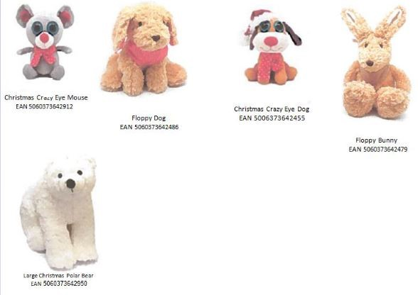 Tesco Plush Toys