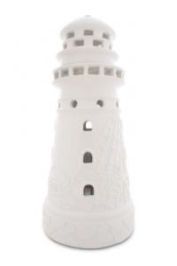 Anyu Porcelain lighthouse candleholder
