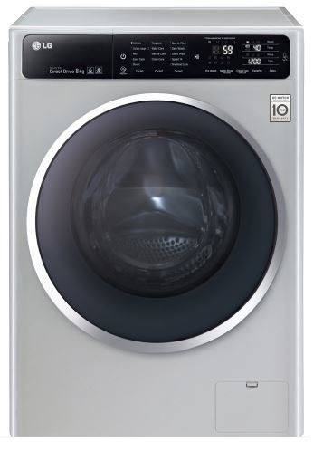 LG 8kg 6 Motion Direct Drive Washing Machine