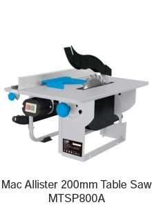 Mac Allister table saw