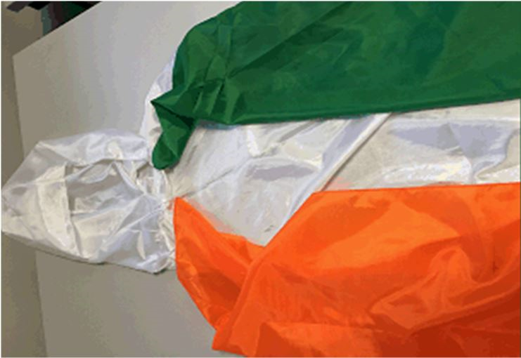 Claire's Accessories Irish Flag Cape