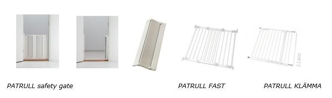 IKEA PATRULL safety gates