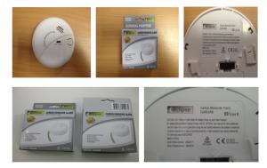 240V Carbon Monoxide Alarm