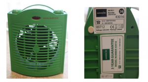 Aldi Gardenline Greenhouse and Conservatory Heater