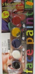 Chelford Children's '5 Face Paint'