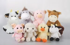 Dunnes Stores soft toy farm animals