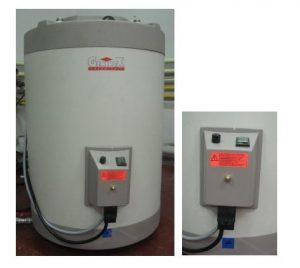 Géminox immersion heater