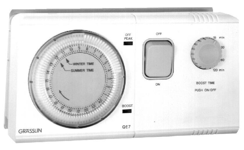 Grasslin QE7 water-heating timer
