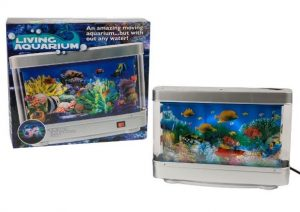 Living Aquarium Light Up Fish Tank