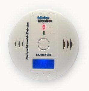 Woodies Mister Monitor carbon monoxide alarm