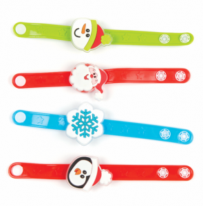 Baker Ross Christmas Flashing Bracelets